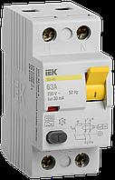 ПЗВ (пристрій захисн. відкл.) ВД1-63 2Р 63А 30мА тип А IEK