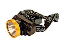 Фонарь налобный LED Headlight AS 0509 LED Bright Light Orange