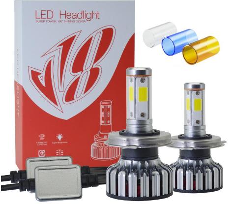 Светодиодные лампы для машины V18s H4