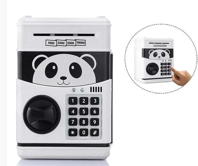Игрушка копилка сейф с кодовым замком (Панда)