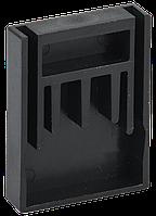 Заглушка для шини PIN 4Р 100А крок 27мм IEK