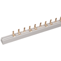 Шина з'єднання єднувальна PIN (штир) 3Р 100А довж. 1м IEK