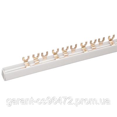 Шина з'єднувальна FORK (вилка) 3Р 63А довж. 1м IEK