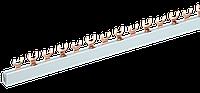 Шина з'єднувальна FORK (вилка) 2Р 63А довж. 1м IEK