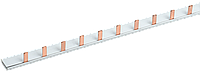 Шина з'єднання єднувальна PIN (12 штирів) 1Р 63А довж. 22см IEK