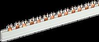 Шина з'єднувальна FORK (вилка) 2Р 100А довж. 1м IEK