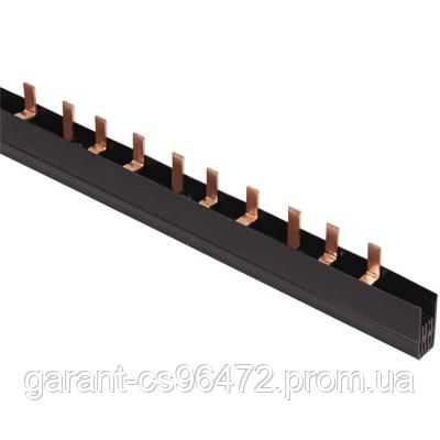 Шина з'єднувальна PIN 2Р 100А крок 27мм довж. 1м IEK