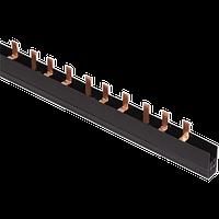 Шина з'єднання єднувальна PIN 2Р 100А крок 27мм довж. 1м IEK