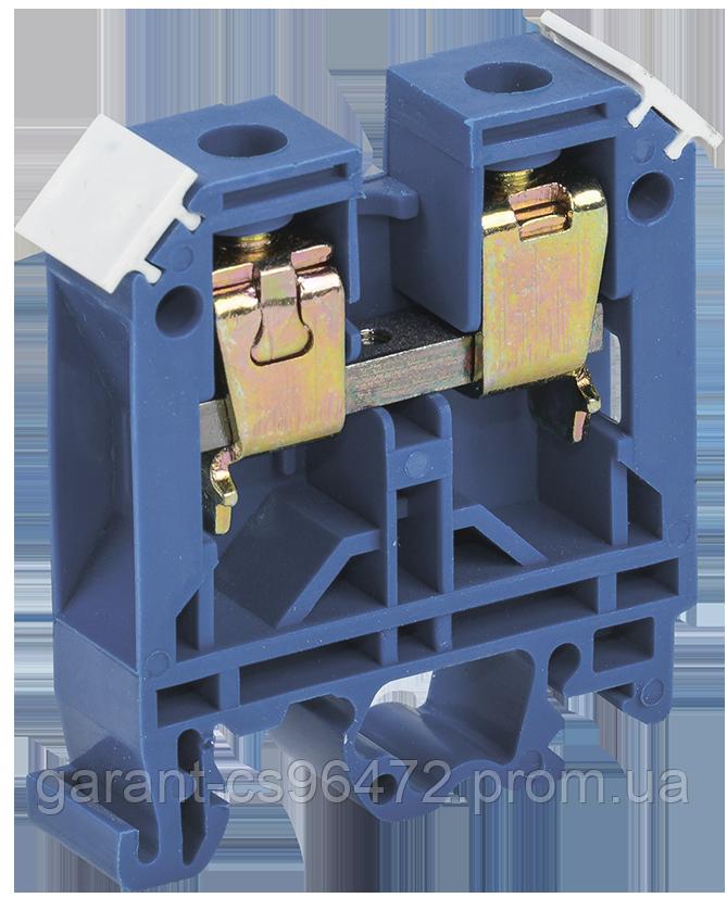 Затискач набірний ЗНИ-16мм2 (JXB100) синій IEK