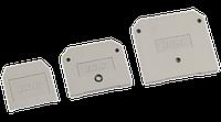 Заглушка для ЗНИ4-6мм2 (JXB35-50А) сірий IEK