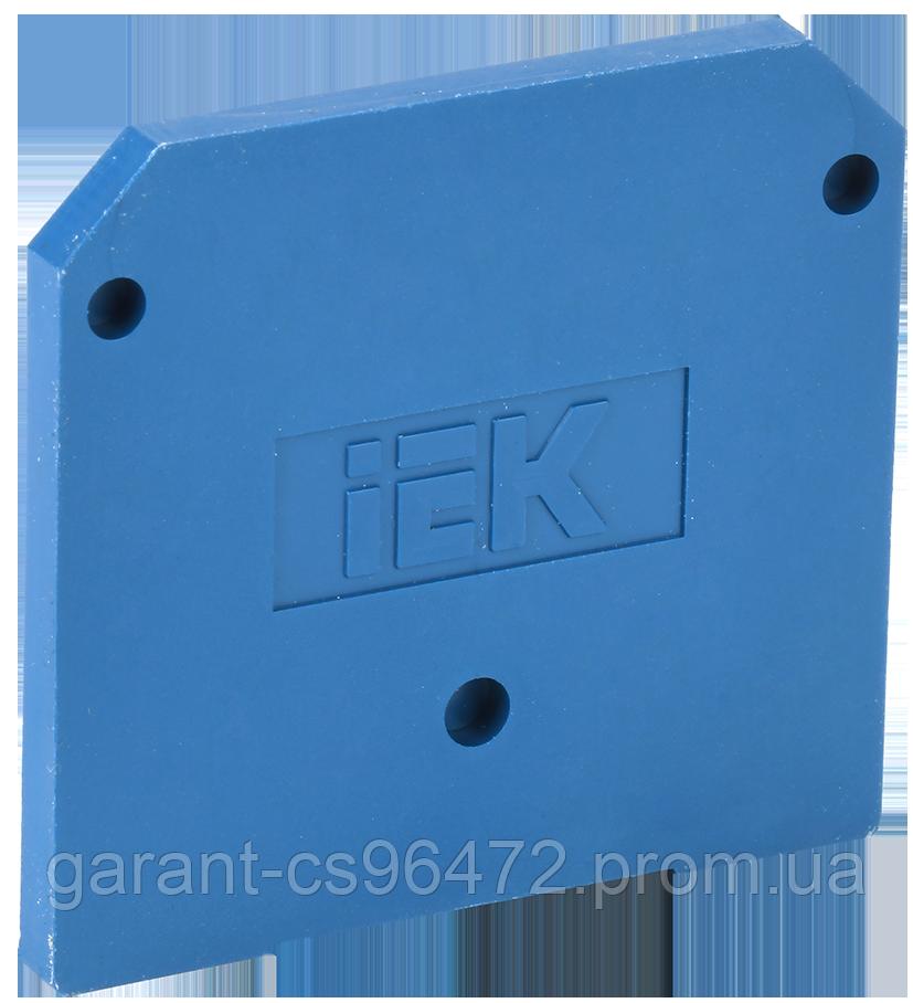 Заглушка для ЗНИ-35мм2 (JXB125A) синій IEK