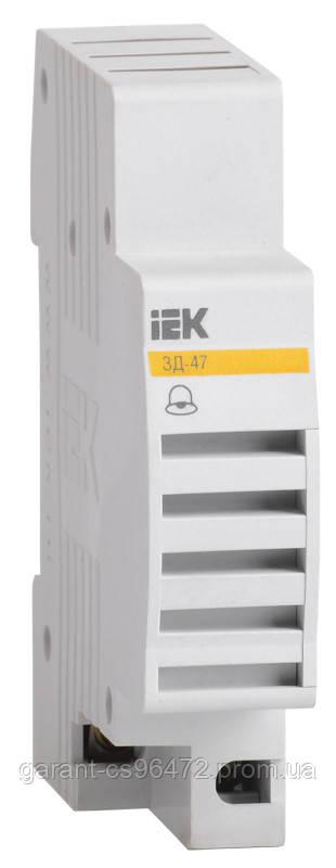 Дзвінок ЗД-47 на DIN-рейку IEK
