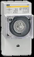 Таймер ТЭМ181 аналоговий 16А 230В на DIN-рейку IEK