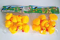 Качечки для ванни, іграшки для купання, пищалочки (8 шт.), фото 1