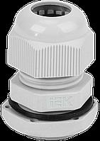 Сальник PG 11 діаметр провідника 7-9мм IP54 IEK