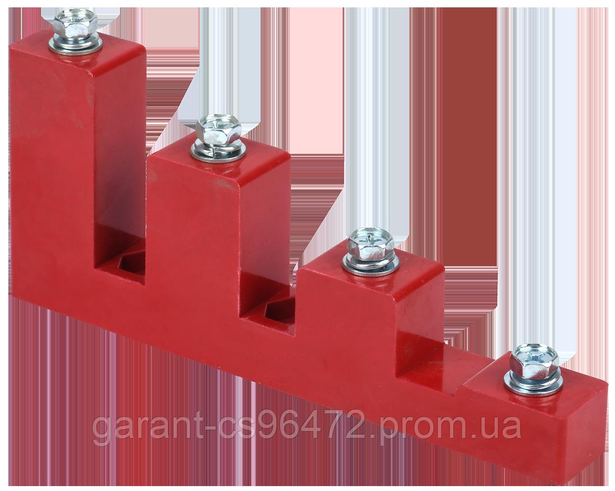 Ізолятор ступінчатий ИСв4-40 М10 силовий з болтом IEK