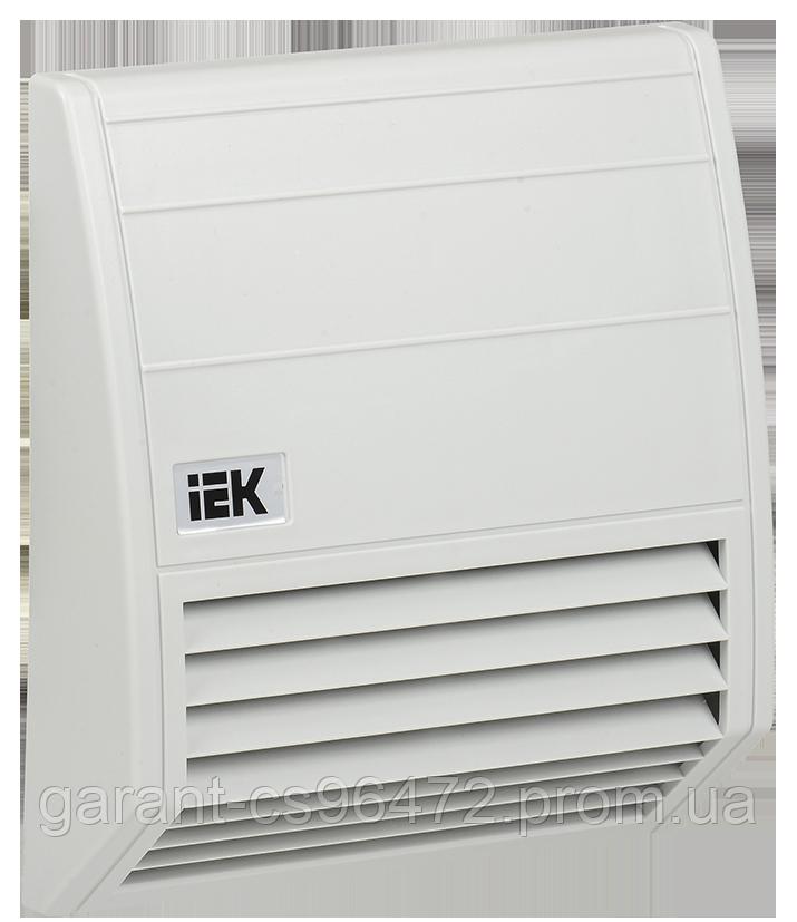 Фільтр із захистним кужухом 176х176мм для вент-ра 102м3/рік IEK