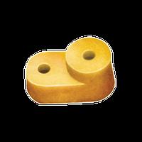 """Ізолятор кутовий для """"Про"""" шини жовтий (200 штук) IEK"""