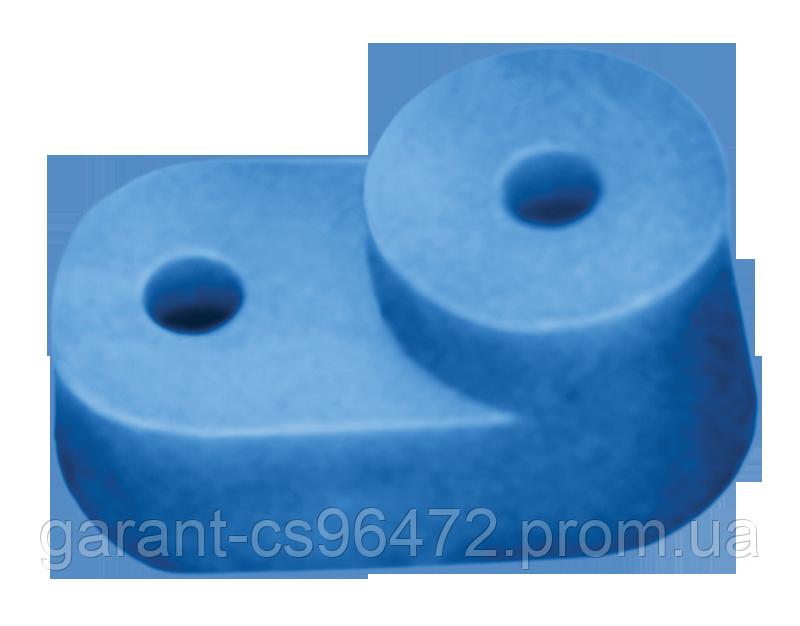 """Ізолятор кутовий для """"О"""" шини синій (200 штук) IEK"""