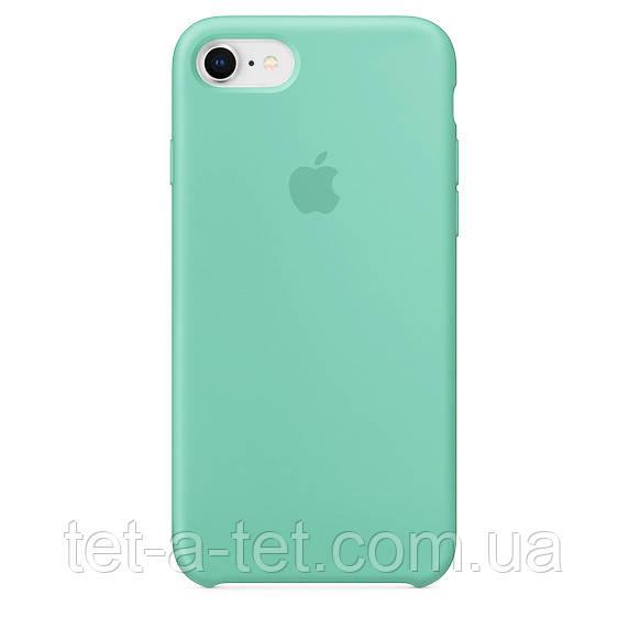Чехол Silicone Case Original for Apple iPhone 7/8/SE 2020 (HC) - Sea Blue