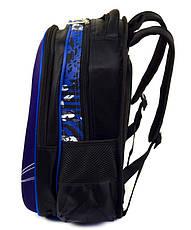 Школьный рюкзак Трансформер 1, 2, 3 класс для мальчика. Портфель ранец ортопедический полу каркасный, фото 2