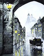 Картина по номерам Вечерний город (RS-N000077) 45 х 35 см