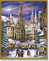 Картина-раскраска Schipper Рождественская ярмарка в Нюрнберге (SC9130336) 40 х 50 см