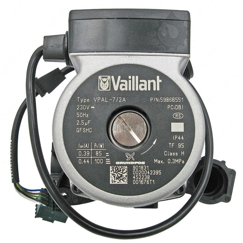 Насос Vaillant 0020025042 Wilo VPAR-7 Grundfos VPAL-7 котла turboTEC Plus ecoTEC
