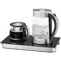 Чайно-кофейный набор электрочайник стеклянный Profi Cook PC-TKS 1056 чайник электрический