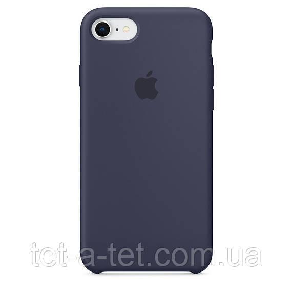 Чехол Silicone Case Original for Apple iPhone 7/8/SE 2020 (HC) - Midnight Blue