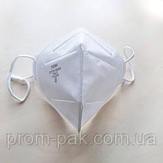 Респиратор FFP2 без  клапана Титан 2К, для защиты дыхательных путей, медицинский.