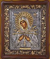 Семистрельная икона Божьей Матери (1 вариант)