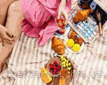 Вкусности на пикник 40*50см Brushme Картина по номерам