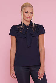 Женская блуза в романтичном стиле  размеры XL, XXL, XXXL