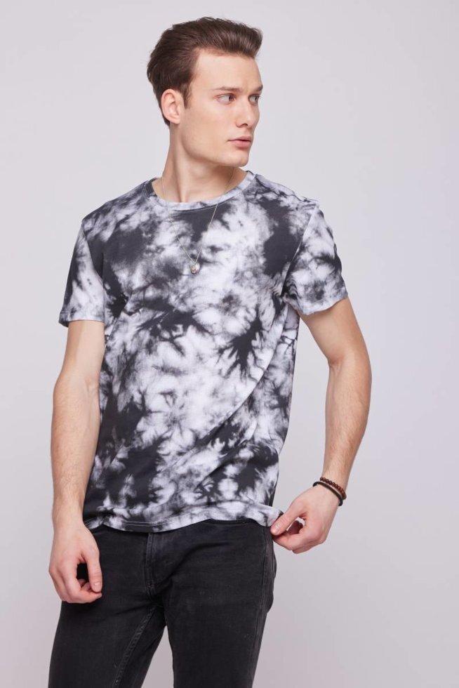 Мужская футболка  тай-дай