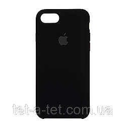 Чохол Silicone Case Solid Series for Apple iPhone 7/8/SE 2020 (OEM) - Black
