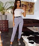 Карго брюки стильные BRT1564, фото 4