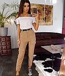 Карго брюки стильные BRT1564, фото 5