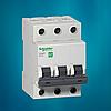Автоматический выключатель Schneider Electric 10А, 3P, С, 4.5кА Easy 9 (EZ9F34310)