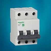 Автоматический выключатель Schneider Electric 10А, 3P, С, 4.5кА Easy 9 (EZ9F34310), фото 1