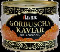 Красная лососевая икра горбуши Lemberg 500 г. Германия