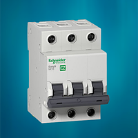 Автоматический выключатель Schneider Electric 16А, 3P, С, 4.5кА Easy 9 (EZ9F34316), фото 1