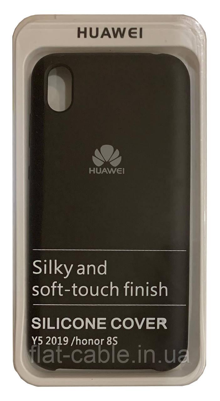 Чохол на Huawei Y5 2019 (Black) Silicone Case