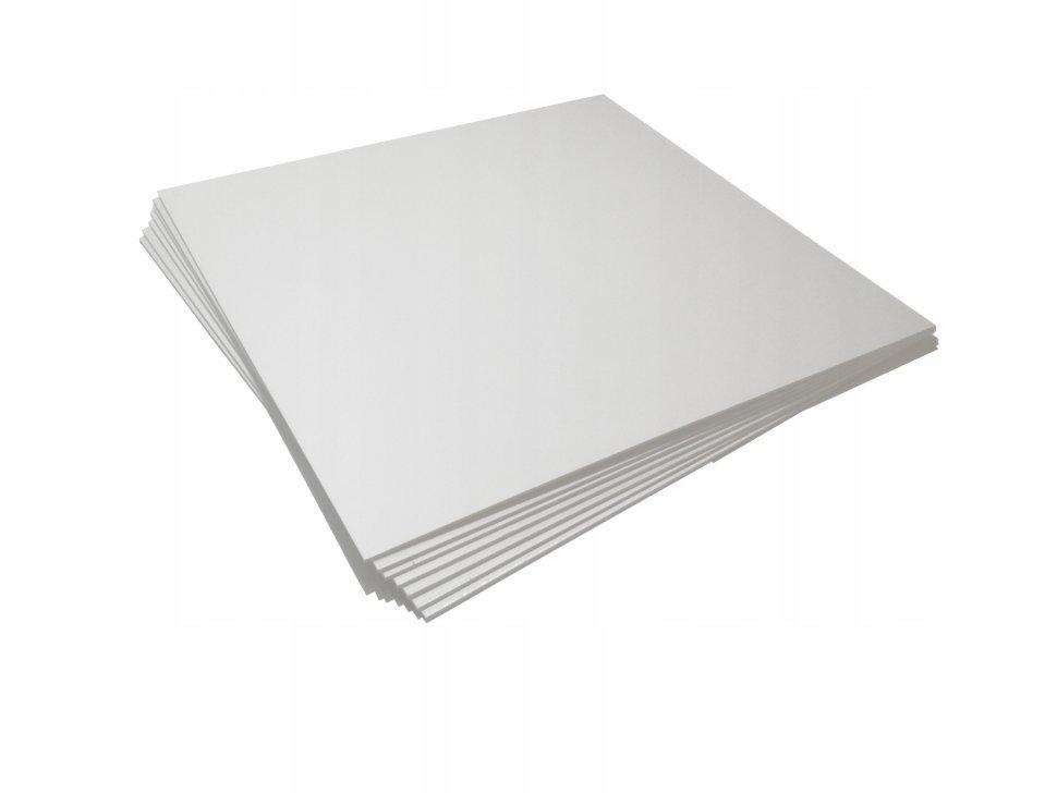 Пластик вспененный ПВХ 3мм белый 50х50см
