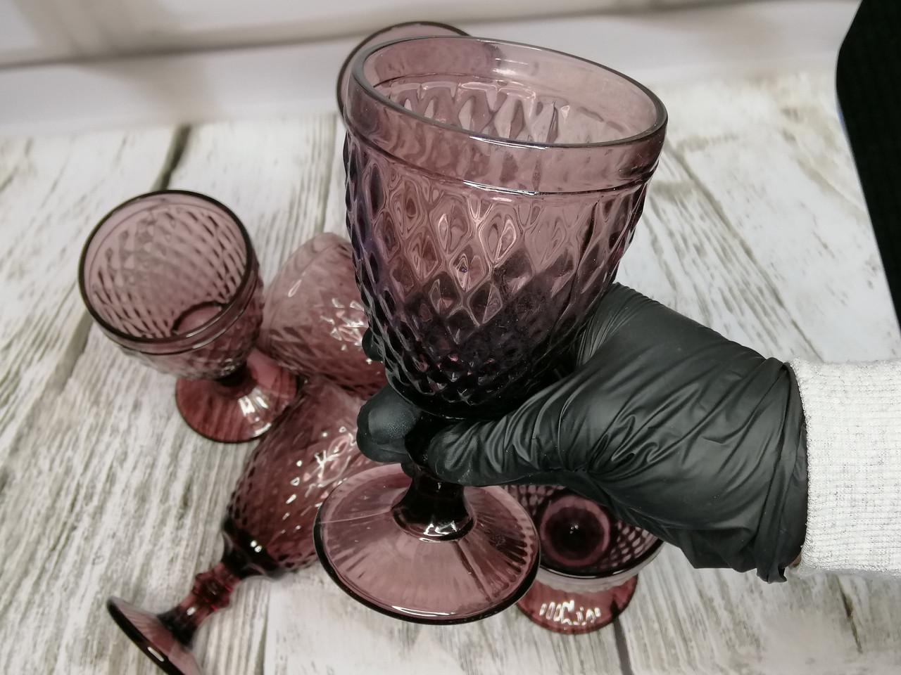 Набір келихів La Mediterranea Sidari Crystal 6 шт. 350 мл колір - фіолетовий