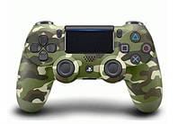 Джойстик Sony PS 4 DualShock 4 Wireless Controller Green Camouflage