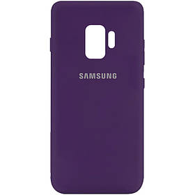 Чехол Silicone Cover My Color Full Protective (A) для Samsung Galaxy S9