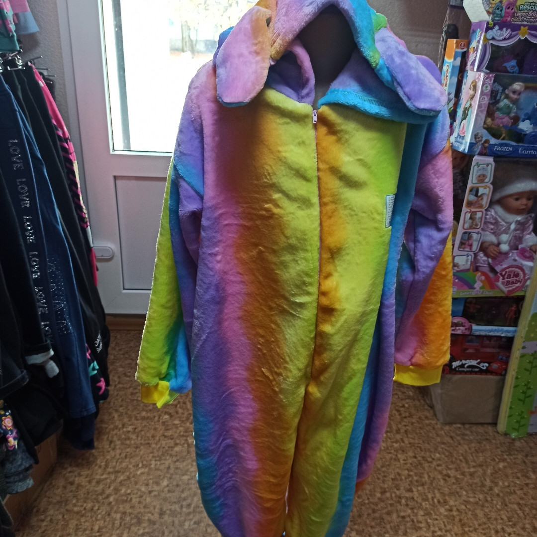 Пижама- кигуруми для детей очень теплая и красивая.