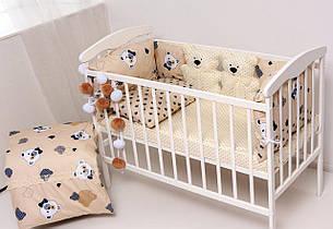 """Детский постельный набор Бэйби-бежевый """"наполнитель холлофайбер высшего сорта"""""""