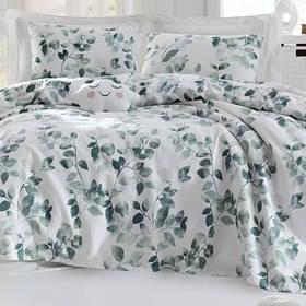Покрывало пике Lotus Home Perfect - Sabine зеленый 200*235